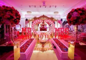 دیزاین جایگاه عروس و داماد نخستین محل زیر ذره بین از دیدگاه میهمانان