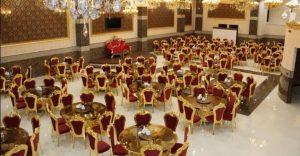 سالن پذیرایی یک تالار عروسی در تهران