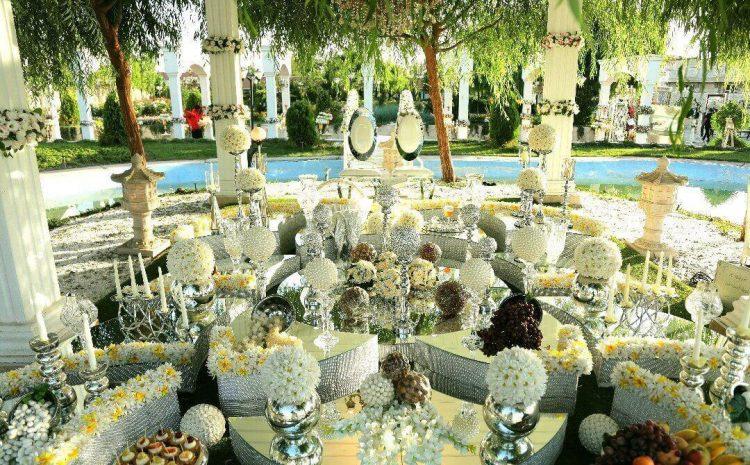 لیست  تالارها و  باغ تالار های تهران