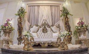 اتاق عقد VIP آناهیتا در منطقه جردن با دکوراسیونی زیبا