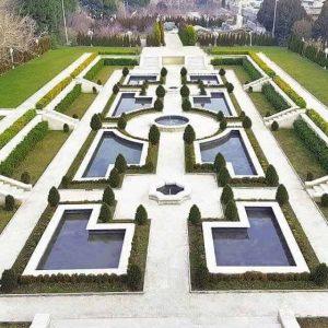 مجموعه باغ تالار 21 با فضای رویایی و استخر روباز واقع در منطقه گرمدره