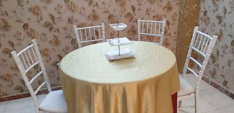نکاتی در رابطه با اجاره میز و صندلی مجالس