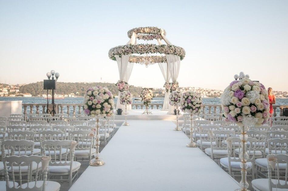 بهترین فضا برای عروسی